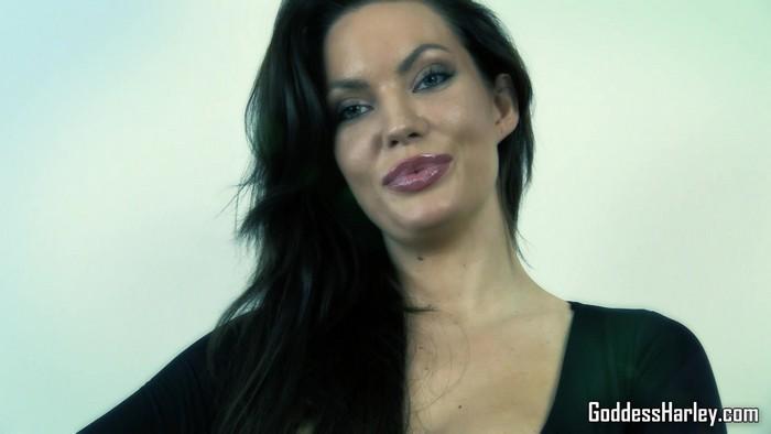 POV - Goddess Harley - Pov Foot In Mouth [GoddessHarley.com / 2016 / FullHD 1080p]