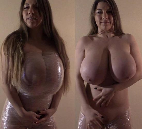 Samanta Lily - Foil Dress - 720p