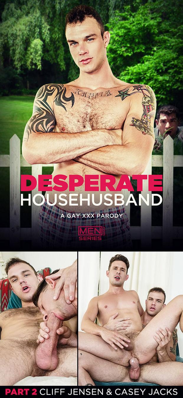 MEN – Casey Jacks, Cliff Jensen – Desperate Househusband Part 2
