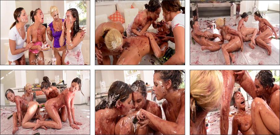 Messy Girls: Last Supper, Scene 1