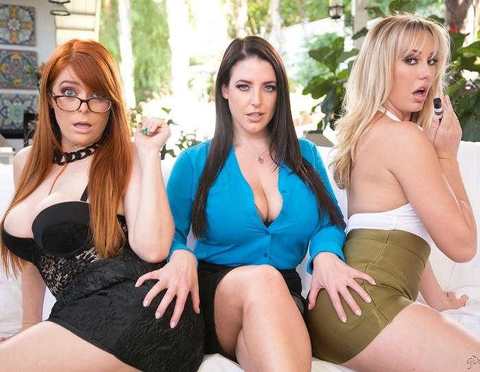Penny Pax, Brett Rossi & Angela White - Lipstick Lesbians - Girls Way - FullHD 1080p
