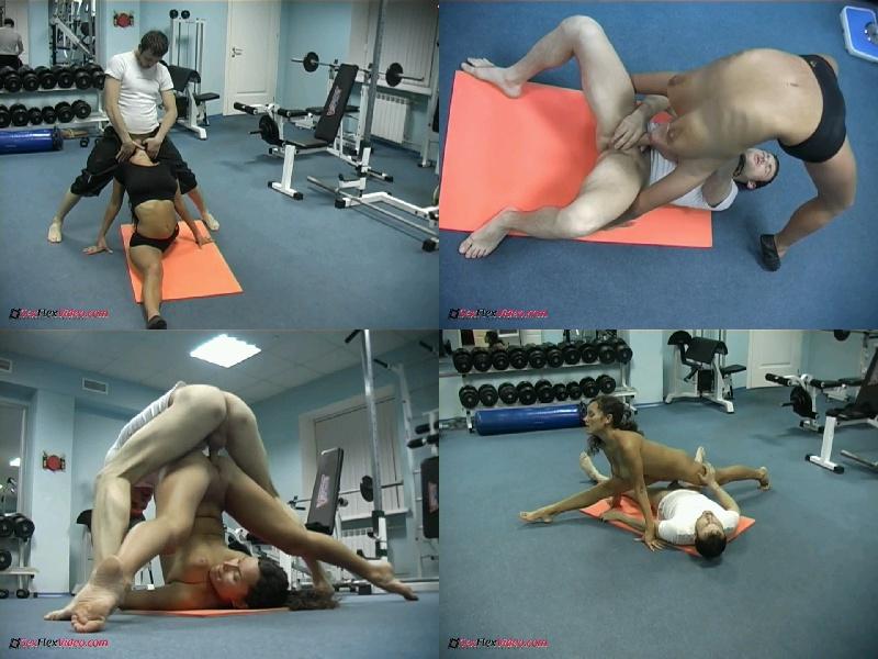 Olesja - Gymnast Fucked By Trainer - Sex Flex Video - HD 720p