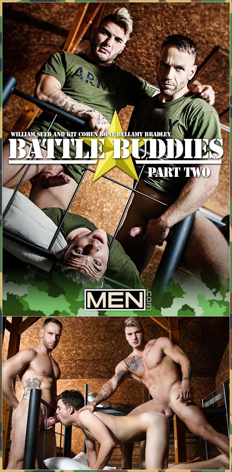 MEN - Battle Buddies Part 2 - Bellamy Bradley, Kit Cohen, William Seed