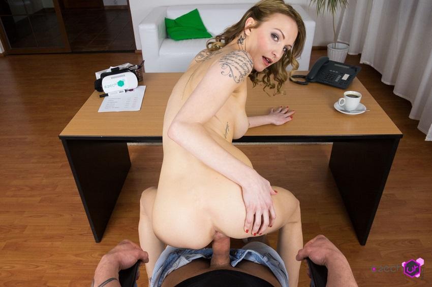Casting secretary affair, Belle Claire, Apr 7, 2017, 3d vr porno, HQ 1920p