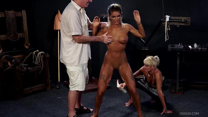 Torture - Fatima, Julcsi - Dressage - Part 1 [Graias.com / ElitePain.com / 2017 / HD 720p]