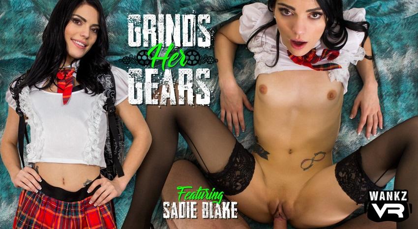 Grinds Her Gears, Sadie Blake, 29 December, 2017, 3d vr porno, HQ 1600p