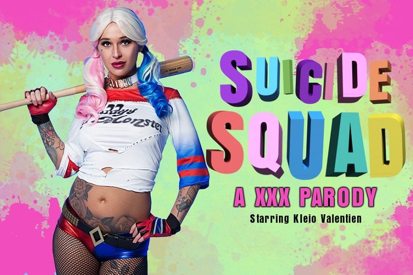 Suicide squad: Harley Quinn XXX PARODY, Kleio Valentien, May 12, 2017, 3d vr porno, HQ 1920p