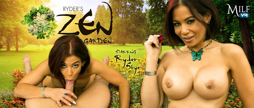 Ryder's Zen Garden, Ryder Skye, 7 December, 2017, 3d vr porno, HQ 1600p
