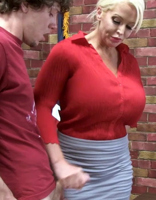 Alura Jensen - Milf Teacher Corporal Punishment Hand Job - PrimalFetish - HD 720p