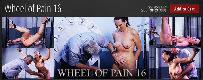 BDSM - Wheel of Pain 16 [ElitePain.com / 2016 / FullHD 1080p]