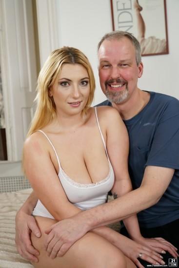 Lucia Fernandez, Michael - Having Sex With My Moms Friend - GrandpasFuckTeens - HD 720p