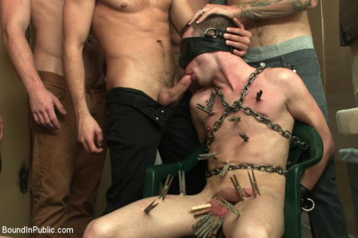 Bound in Public - Bathroom pig - Christian Wilde, Connor Maguire, Tripp Townsend