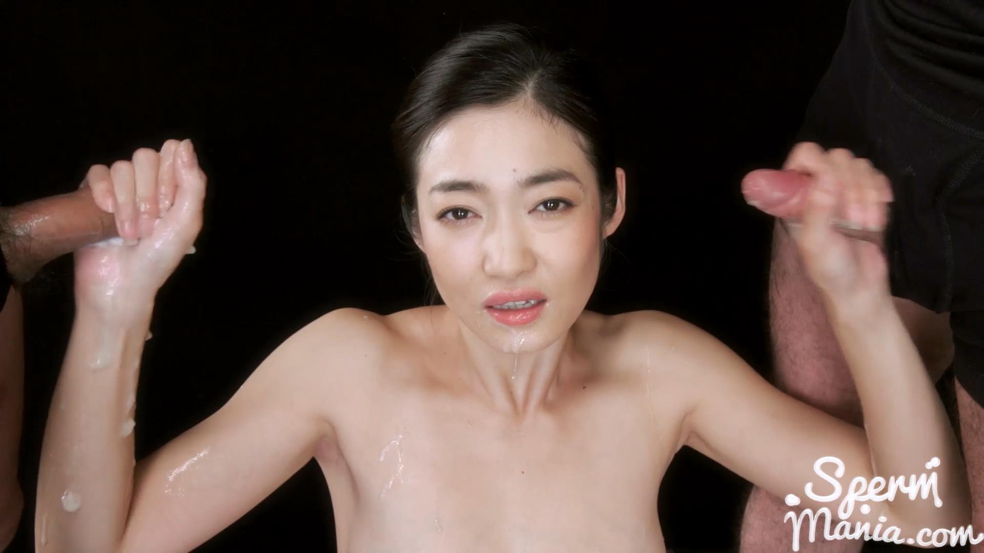 Ryu_Enami\'s_Cum_Covered_Group_Handjob_-_Sperm_Mania.jpg