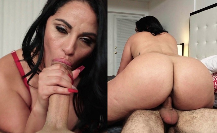 Cristal Caraballo - Latina MILF Fucks The Wrong Guy - PervsOnPatrol - HD 720p