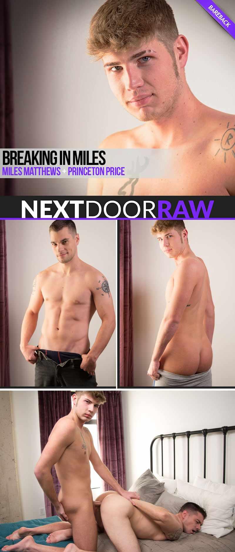 Miles Matthews creams Princeton Price Breaking in Miles - NextDoorRaw