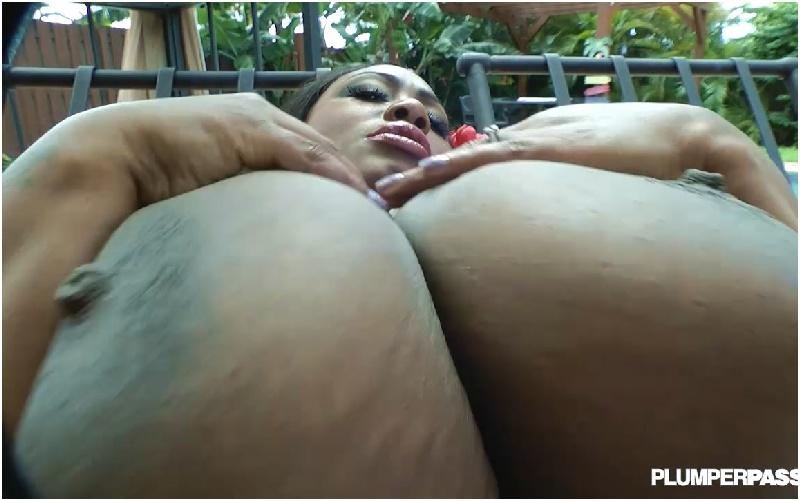 Mz  Diva - Giant Ebony Tits Eager Beaver - HD 720p