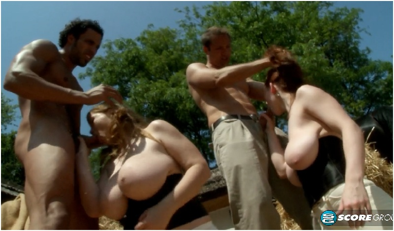 Melissa Mandlikova, Terry Nova, Christy Marks, Karina Hart, Jasmine Black - Cum Along For The Ride - Big Tit Terry Nova - HD 720p