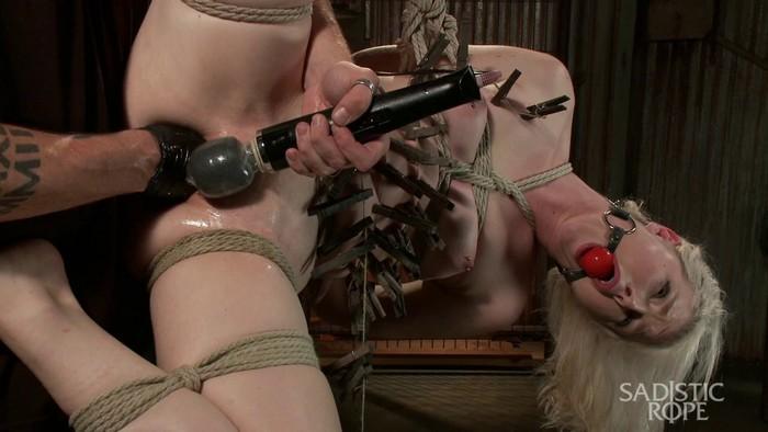 Ella Nova is tormented in extreme bondage (36123) (HD 720p)