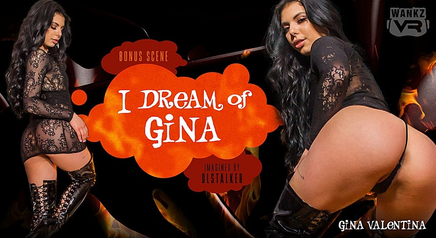 I Dream of Gina, Gina Valentina, 18 Apr, 2018, 3d vr porno, HQ 1920p