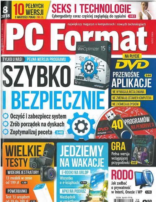 Pc Format Polska 08-2018  / pdf