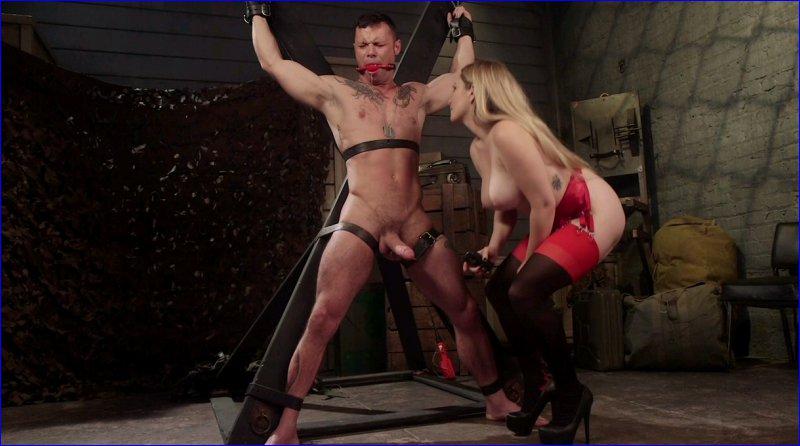 FemDom 5712 Aiden Starr Dominates Sexy Military Hard Ass