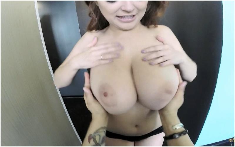 Tessa Fowler - Black Lace GoPro Lapdance - HD 720p
