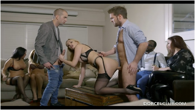 Liza Del Sierra, Mariska, Amber Jayne - Mariska And Liza Del Sierra love group sex - Dorcel Club - HD 720p