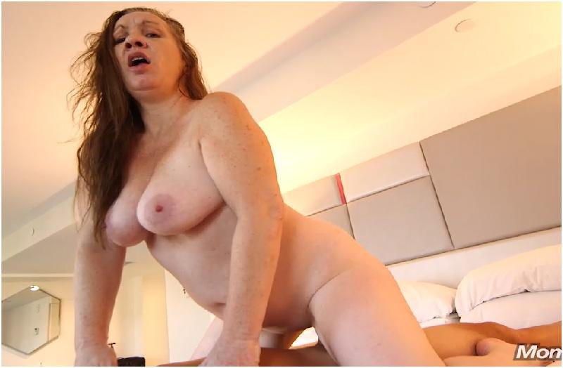 Milly - Natural tits redhead is a true freak - Mom POV - HD 720p