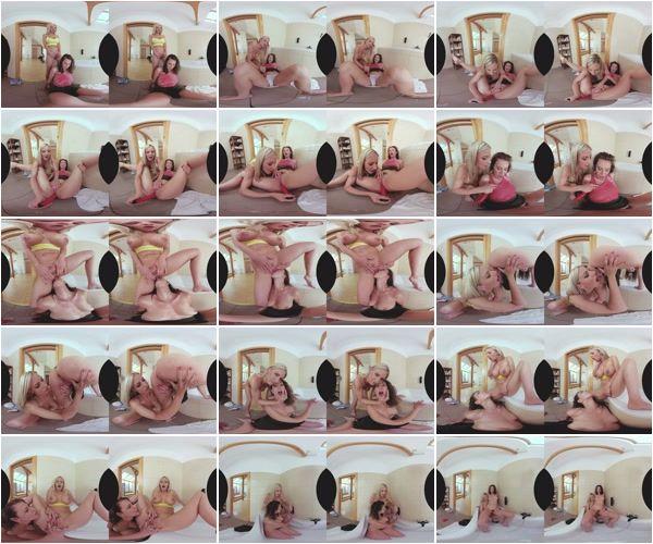 Warm Lesbian Piss, Emylia Argan & Natalie Cherie, May 30, 2018, 5k 3d vr porno, HQ 2700p