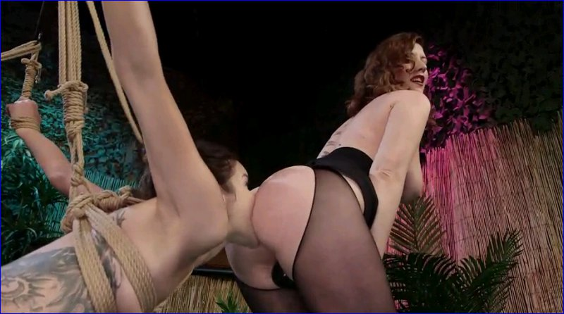 FemDom 6026 Cute pain slut bartender gets spanked and fucked