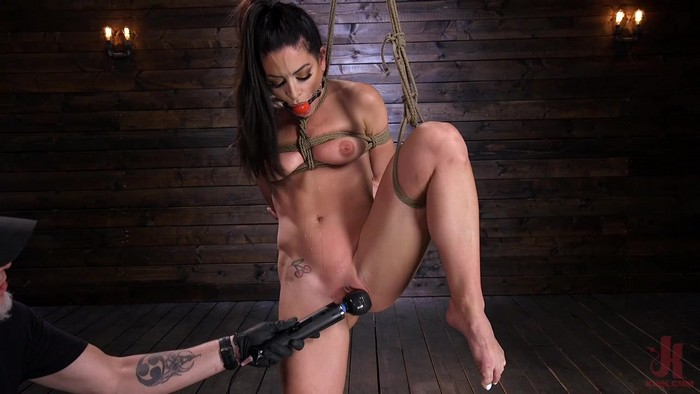 Kissa Sins - Kissa Sins is Dominated in Grueling Bondage (22.11.2018 / HD 720p)