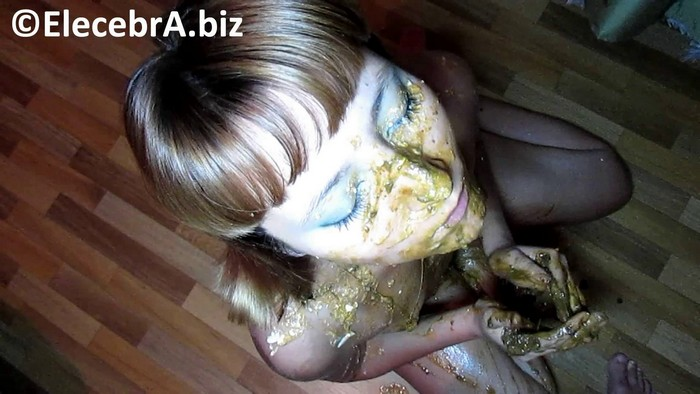 Elecebra - Mouthful of shit and muzzle in vomit (FullHD 1080p)