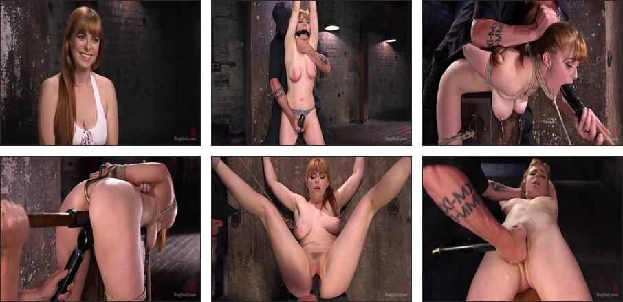 Red Headed Rope Slut is Violated and Tormented, Scene 1