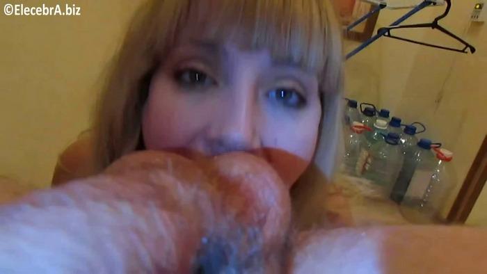 Elecebra - POV shit in her mouth (FullHD 1080p)