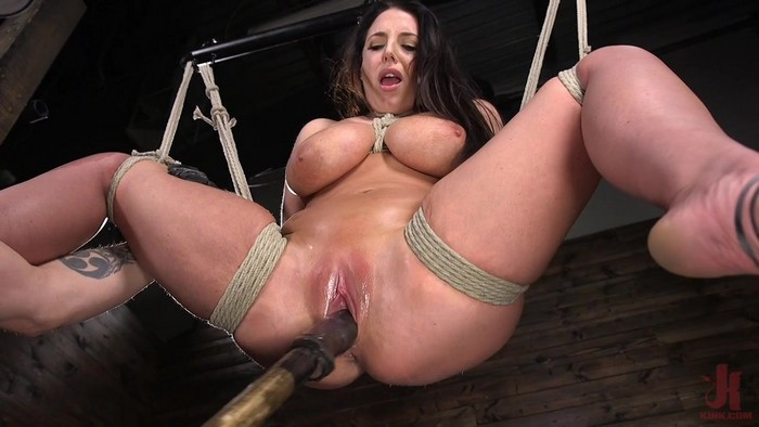 Angela White - Angela White's First Time in Brutal Bondage and Tormented (2018 / HD 720p)