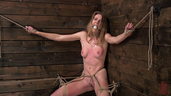 Ashley Lane - Girl Next Door Ashley Lane in Extreme Bondage with Squirting Orgasms! (2018 / HD 720p)