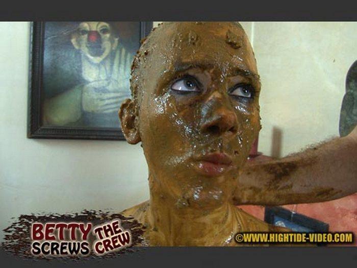 Betty, all-male crew - BETTY SCREWS THE CREW! (HD 720p)