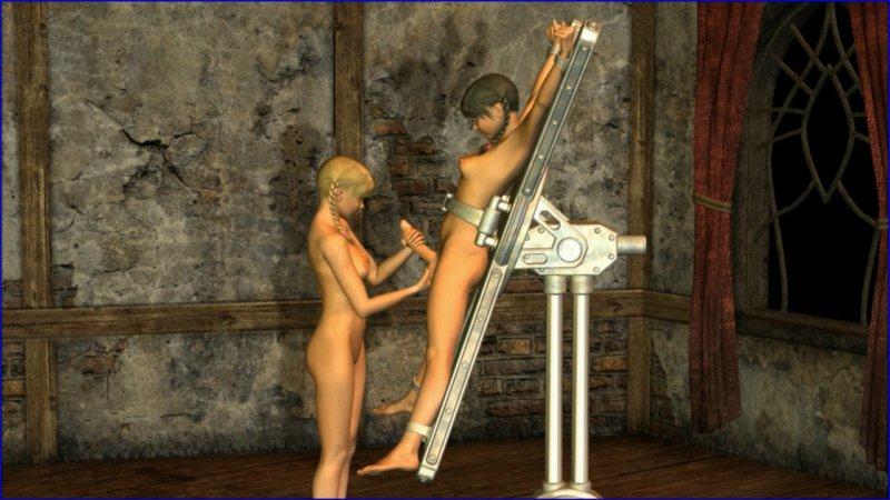3D 5709 Futanari Girls