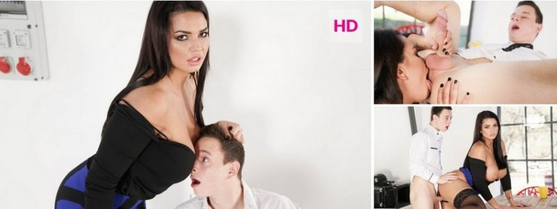Chloe Lamour - First Day At Work - HD 720p