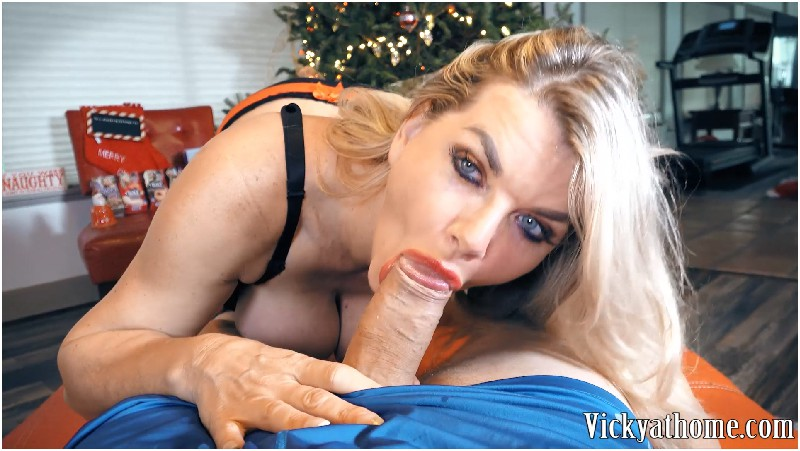 Vicky Vette - All I Want For Xmas Is Vicky Vette - Vicky At Home - FullHD 1080p