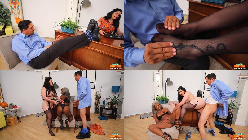 Angelina Castro, Harmonie Marquis - Keeping The Client Happy - FullHD 1080p