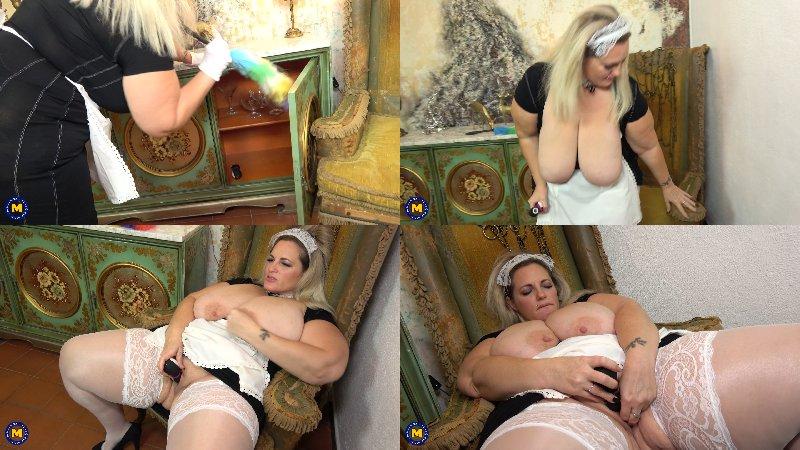 Sophia Lola EU 46 - This Spanish Bbw Housemaid is getting very dirty (Maid) - FullHD 1080p
