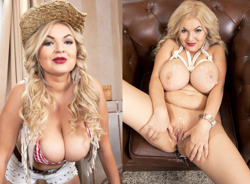 Diana Frost - Busty Euro Cowgirl - FullHD 1080p