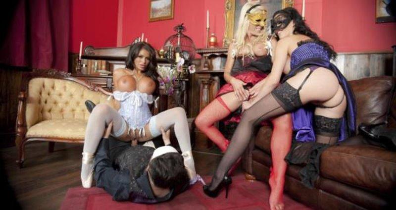 Gemma Massey, Sammi Jay, Ella Mai - Phantom Tutorial - Group Sex Games - FullHD 1080p