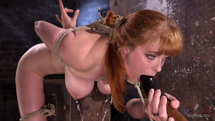 Penny Pax - Red Headed Rope Slut is Violated and Tormented (HD 720p) Cover