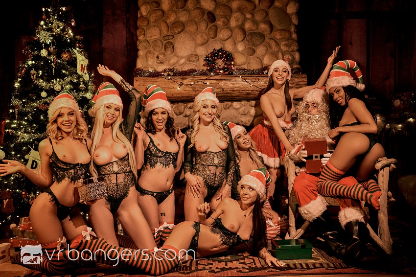 Santa's Naughty Elves (Part 2), Jan 2, 2019, 6k 3d vr porno, HQ 3072p