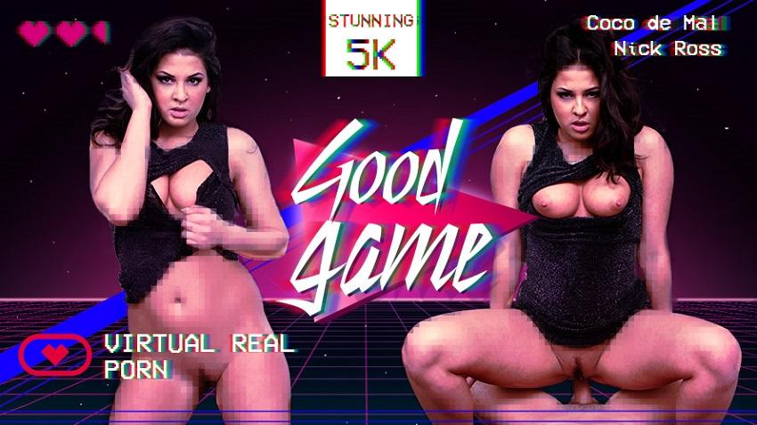 Good Game, Coco del Mal, May 14, 2018, 5k 3d vr porno, HQ 2700p