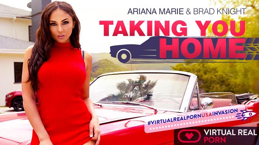 Taking you home, Ariana Marie, Jun 29, 2018, 4k 3d vr porno, HQ 2160p