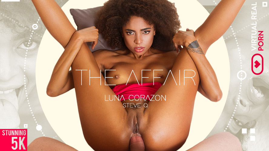 The affair, Luna Corazon & Steve Q, Jul 2, 2018, 4k 3d vr porno, HQ 2160p