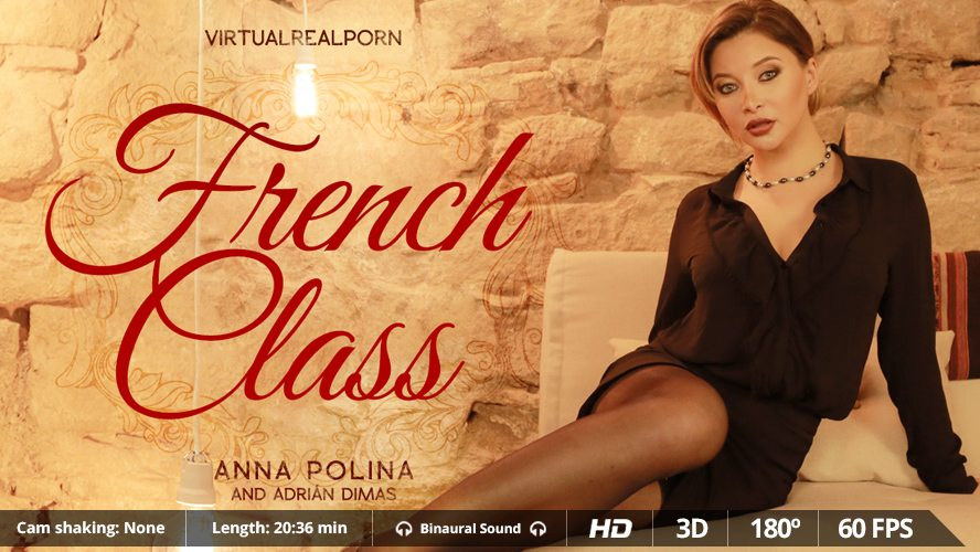 French Class, Anna Polina, Feb 25, 2016, 3d vr porno, HQ 1600p